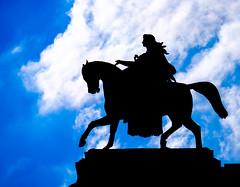Erato (Dalliance with Light (Andy Farmer)) Tags: viennaopera wingedhorse erato silhouette statue clouds wien austria at