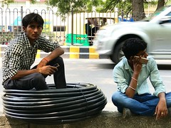 Ironical Dispatches from the Age of Wireless Living (Mayank Austen Soofi) Tags: delhi walla mobile phone ironical dispatches from age wireless living