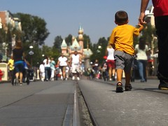 The Happiest Place on Earth (cb|dg photo) Tags: disneyland disney california anaheim castle mainstreet themepark ca vacation fun resort waltdisney street world losangeles blue magic child parent happy happiestplaceonearth