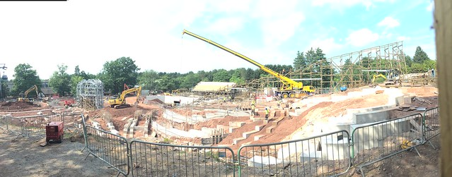 SW8 Construction Site 6th July 2017 - Panorama