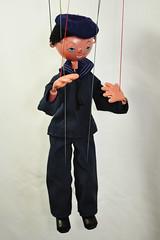 sailor 1984 - 1986 (Margaret Stranks) Tags: pelhampuppet marlborough wiltshire sailor uk marionette