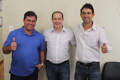 Dino, Dep Renzo e Ricardinho (Deputado Renzo Braz) Tags: três corações