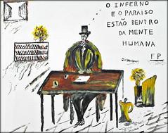 Lisboa 2017 - Fernando Pessoa na Alfama (Markus Lüske) Tags: portugal lisbon lisboa lissabon graffiti graffito wandmalerei mural muralha street kunst art arte streetart urbanart urban lueske lüske