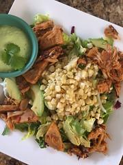 Southwestern Jackfruit Salad with Avocado Cream (Vegan Feast Catering) Tags: jackfruit salad avocado vegan