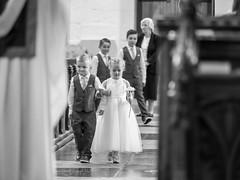 Flower girl and page boys (johnnewstead1) Tags: monochrome blackwhite blackandwhite wedding weddingphotographer weddingday weddingphotography norfolkwedding norfolkweddingphotographer simonwatsonphotography johnnewstead northwalsham flowergirl pageboy stnicholaschurch church olympus em1 mzuiko