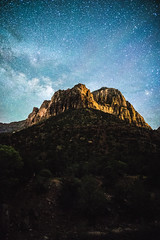 Milky Way over Zion National Park (BrendanBannister) Tags: arizona utah nevada las vegas valley fire monument mojave desert lava tubes horseshoe bend page zion national park astro milky way long exposure watchman sunset death alabama hills