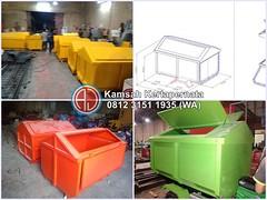 Pabrik Kontainer Sampah Berkualitas di Kota Bandung (Ramdhani Jaya) Tags: kontainer sampah news pabrik bak tong