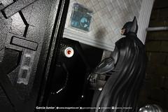 """Batman's Vault diorama (Garcia """"Imagética"""" Junior) Tags: diorama batman art arte miniature miniatura collection coleção actionfigure toy brinquedo boneco cenário dccomics dccollectibles arkham arkhamasylum arkhamcity arkhamknight arkhamorigins photography fotografia"""