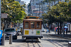 CABLE CAR (mark_rutley) Tags: usa cablecar sanfrancisco california street vacation holiday marketstreet urban transport powellandmarket
