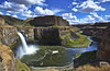 Palouse Falls at Mid-day (Jared Wilson) Tags: palouse falls state park washington waterfall river cathedral rocks