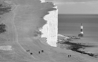 Cliff Top Walk To Beachy Head