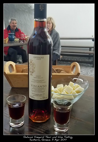 Galavas Vineyard Tour and Wine Tasting, Santorini, Greece. 03 Apr 2017