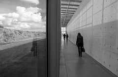 out&indoor (ThorstenKoch) Tags: street streetphotography schatten silhouette sky clouds indoor outdoor monochrome blackwhite bnw reflection museum fuji fujifilm xt10 pov people photography picture photographer pattern