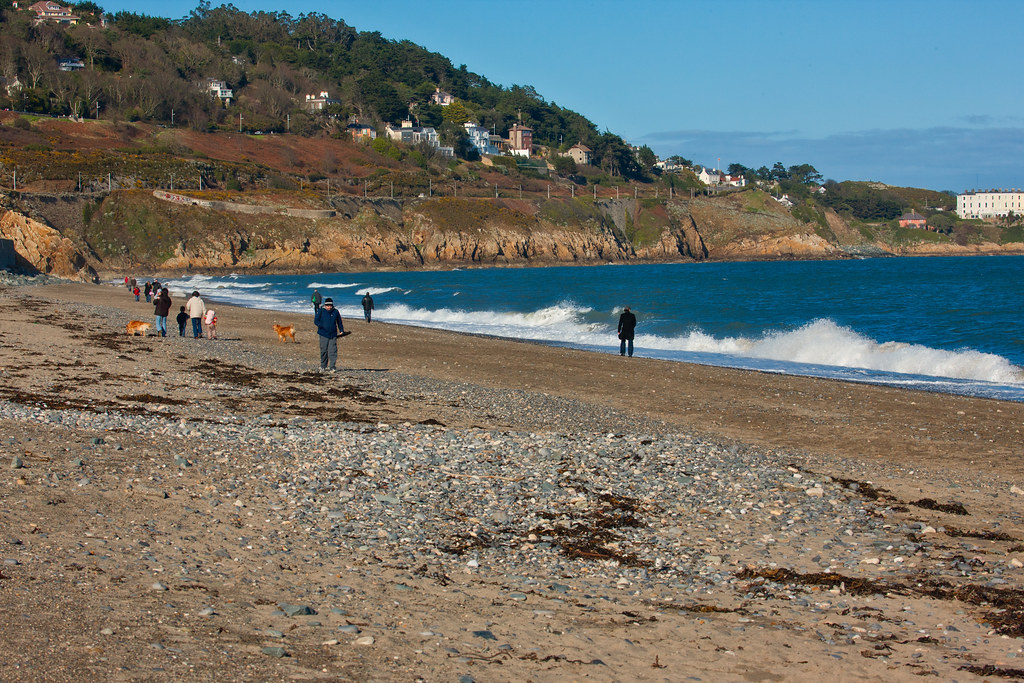KILLINEY BEACH AND VIEWS FROM THE BEACH [THE DAY BEFORE ST. PATRICKS DAY 2008]-129554