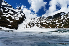 20170610-39-Cracked ice on Bachalpsee (Roger T Wong) Tags: 2017 bachalpsee berncanton bernesehighland berneseoberland first rogertwong sel2470z sony2470 sonya7ii sonyalpha7ii sonyfe2470mmf4zaosscarlzeissvariotessart sonyilce7m2 switzerland hike hills ice lake mountains outdoors snow tramp travel trek walk water