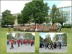 Regimental Parade .. (** Janets Photos **) Tags: uk citycentres hull yorkshireregiments army parades collage