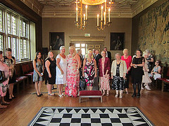 Ladies of the Lodge and guests (Bloomsbury Rifles) Tags: charterhouse
