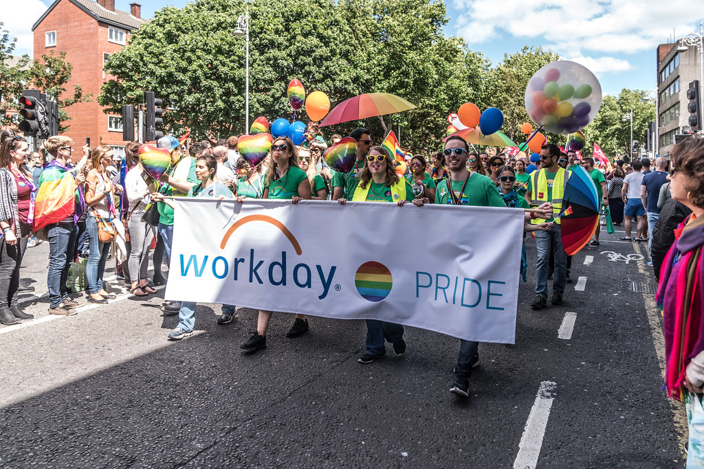 LGBTQ+ PRIDE PARADE 2017 [ON THE WAY FROM STEPHENS GREEN TO SMITHFIELD]-130139