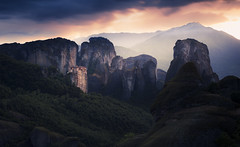 Meteora  6am (Nick Panagou) Tags: meteora greece greatphotographers light landscape longexposure nature naturegreece sunrise sky exposure exploring eos explore emotion expressive expessivesky bestshotoftheday bestphotographer cloudysky coudporn contrast clouds dramatic rocks thessaly thelook goldenhour