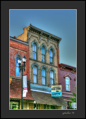 Beer Store (the Gallopping Geezer '4.8' million + views....) Tags: building structure business store storefront mainstreet smalltown lowell mi michigan backroad backroads old canon 5d3 24105 geezer 2016 sign signs signage hdr processing photomatrix