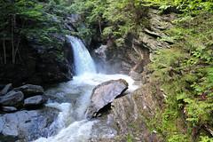 Bingham Falls (elsewhereness) Tags: binghamfalls vermont waterfall newengland gorge rocks tthdr hdr