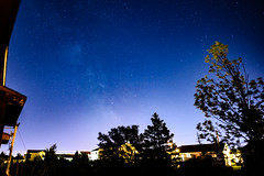 Milky Way Attempt (Tk_White) Tags: nikon d750 20mm 18g night stars milky way galaxy city st johns newfoundland light pollution
