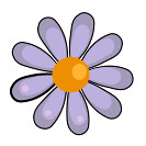 flower y icon (kwippe) Tags: icons clipart vector