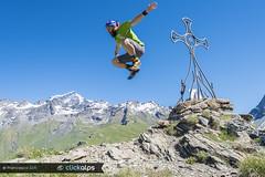 Think different...think in Aosta Valley! (Valle di Ollomont, Valle d'Aosta) (Sisto Nikon - CLICKALPS PHOTOGRAPHER) Tags: mountain mountains alps alpine montagne valledaosta valléedaoste aostavalley ollomont vallediollomont puntacormet concadiby grancombin natura nature jump salto gioia escursionista alpinista clickalps