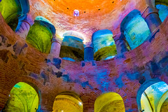 eleventh century, coloured (ToDoe) Tags: italien italy mantua mantova rotonda colored coloured enhancedcolours 11thcentury 11th rotondadisanlorenzo romanisch lombardei bögen arches romanesque