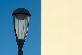 Street light and wall II