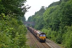 66075, Sutton Park (JH Stokes) Tags: 66075 dbcargo class66 suttoncoldfield suttonpark trains trainspotting tracks transport railways locomotives diesellocomotives ferroequinology photography
