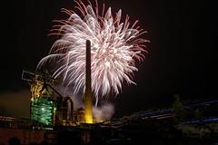 Fireworks (sigiha1953) Tags: feuerwerk fireworks industriekultur industrial heritage industrialheritage nachtaufnahme night nightshot nightphotography nordrheinwestfalen nrw deutschland germany 2017