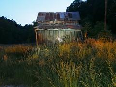 still (1) (photography_isn't_terrorism) Tags: night barn longexposure abandoned farm paintedsign weeds wv westvirginia