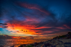 Colorful Sunset (Explored 07.11.2017) (DonMiller_ToGo) Tags: beachlife cloudporn landscape sunsetmadness hdrphotography nature goldenhour d5500 skycandy clouds hdr caspersenbeach 3xp sunset sunsets skyscapes sky sunsetsniper skypainter outdoors beachphotography florida