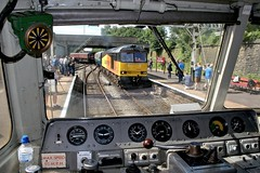 60026 arrving for the ELR Diesel Gala (Strategic Reserve Films - Rory Lushman) Tags: colasrail colas 60026 bury buryboltonst class60 tug elr eastlancsrailway d1501 gateshead 47402 duff sulzer