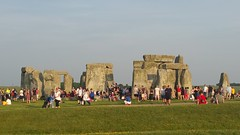Summer Solstice 2017: Stonehenge crowds as sun rises (The Stonehenge Stone Circle Website.) Tags: stonehenge summer solstice 2017 pagan celebration sunrise sunset druid ceremony king arthur pendragon open access inner circle