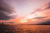 sunset sky (Arbit Bamboo0101) Tags: superwideheliar 15mm color sunset foigtlander port orange light a7ii a72 digital sea landscape sky alpha72 asia osaka japan swh