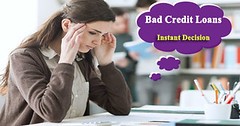 The Intricacies of Bad Credit Loans on Instant Decision-Explained (Big Loan Lender) Tags: no credit check loans instant decision bad