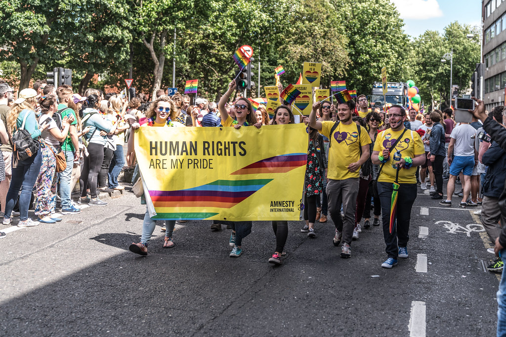 LGBTQ+ PRIDE PARADE 2017 [ON THE WAY FROM STEPHENS GREEN TO SMITHFIELD]-130106