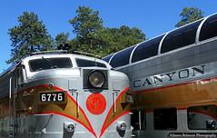 The Grand Canyon Railway • June 10, 2017 (jamesbelmont) Tags: train locomotive railroad grandcanyon arizona