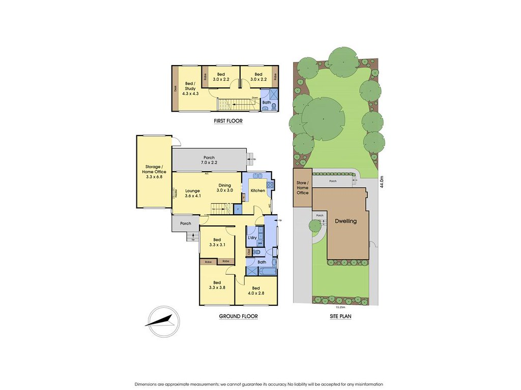26 Andrews Street floorplan