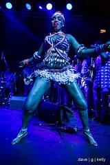 Femi Kuti Dancer (Dave G Kelly) Tags: afrobeat concert dublin femikuti ireland music theacademy dancer gig