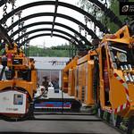 шахтный подвесной локомотив DLZ130F