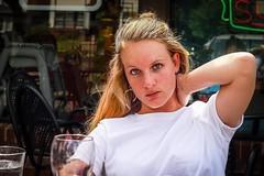 PIZZA LUCE CANDID (panache2620) Tags: canonsl1 eoscanon woman candid casual unposed noflash portraitnatural beauty