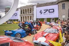 Ferrari 70 years (joãocarmo7) Tags: ferrari250gto ferrarifxxk ferrarifxx ferrari goodwood goodwoodfos fos festivalofspeed