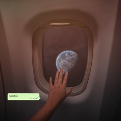 349/365 Never Lasts (Katrina Y) Tags: hands handsinframe airplane porthole 2017 365project earth surreal surrealphotography conceptual digital photography manipulation text goodbye