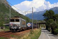 BB-7369 à St Jean de Maurienne (Maxime Espinoza) Tags: train de marchandise fret sncf wagon bb 7200 7369 fantome st jean maurienne modane miramas 47362