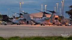 US Marines V-22 Osprey 07 YSSY-8350 (A u s s i e P o m m) Tags: v22 osprey v22osprey usmarines sydneyairport syd yssy mascot newsouthwales australia au