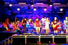 (g*treefrog) Tags: stagelights fluro concert queen rock orchestra popart ampitheatre dso