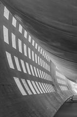 Aeroport CDG (carolinanegel@gmail.com) Tags: aiport architecuralphotography architecture concrete abstract cement architectural spaces windows waiting corridors travel city urban exploration black perspective blackandwhite paris france charles de gaulle interior design